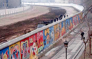 The Berlin Wall was built to keep people in not out!