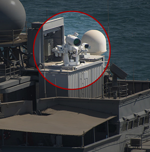 New Laser Weapon Deployed to Persian Gulf for Real Life Testing