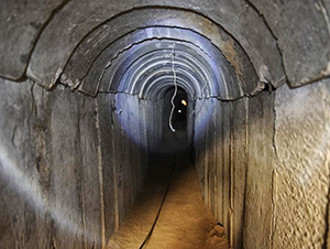 Tunnels are used by Hamas to infiltrate Israel for terrorist attacks and kidnappings
