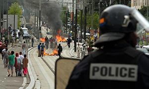 Anti-Semitic Riots in France